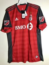 ADIDAS AUTHENTIC MLS JERSEY TORONTO FC TEAM RED SZ 2XL
