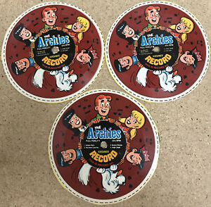The Archies Cereal Box Record No. 1 & 2 & 4