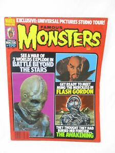Vintage FAMOUS MONSTERS Magazine # 170 Jan 1981 Battle Beyond The Stars