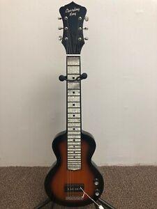 Recording King RG-32-SN Lap Steel Electric Guitar w P90 Pickup  Sunburst