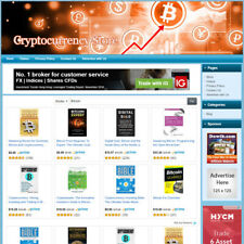 Bitcoin Amp Cryptocurrency Store Online Affiliate Business Website Free Domain