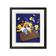 The Simpsons #1 Urban Street Graffiti Poster Print