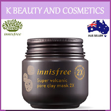 [Innisfree] Super Volcanic Pore Clay Mask 2X *Upgraded 2018* 100ml Sebum Control