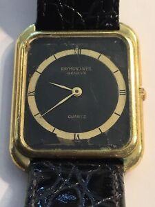 Raymond Weil Uhr D=28/30m ,Neue Batterie,l=22,5cm Werk läuft! Siehe Bilder