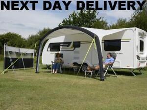 New 2021 Dometic Kampa 400 Sunshine Air Pro Inflatable Caravan Sun Canopy