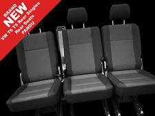 New VW T6 T5 Transporter rear kombi seats 3 x singles Pandu trim quick release