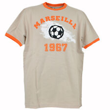 Olympique Marseille French Soccer Football Club 1967 Distressed Tshirt Tee Large