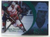 1997-98 Upper Deck Ice Parallel 89 Steve Yzerman Legends
