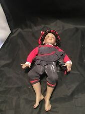 Paradise Galleries African American Porcelain Patricia Rose 1995 Pepper Doll