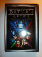 Batman and Robin DVD 2-Disc Set Special Edition sequel movie George Clooney!