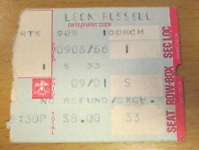 1977 LEON & MARY RUSSELL ROGER McGUINN LAS VEGAS CONCERT TICKET SHINE A LIGHT