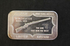 1973 Winchester Model 1873 Belford Mint BM-3 Silver Bar P0749