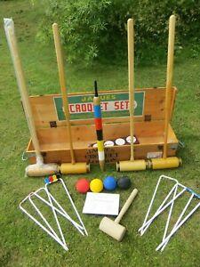 Jaques Of London Oxford Croquet Set