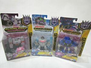 NEW - Transformers - Bundle x3 - Cyberverse Toys - RRP $60!! - LOT 2