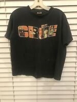 Rare Motley Crue Vintage 1989 Tour Concert Shirt Brockum Single Stitch Nice Fade