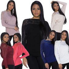 Feine Damen-Pullover & -Strickware mit U-Ausschnitt ohne Muster