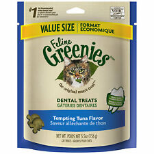 Feline Greenies Dental Treats | Tempting Tuna 5.5oz - Pack of 2