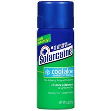 Solarcaine Aloe Extra Burn Relief Spray 4.5 oz