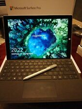 Surface Pro 3 Tablet Core i5 4300U 1.9GHz 8GB RAM 256GB SSD Type Cover Bundle 1s