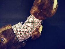 Ferret Harness - Red & Grey Floral - M/L