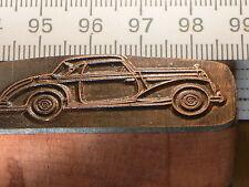 MERCEDES 220 230 CABRIO   schöner Oldtimer Stempel / Siegel aus Metall