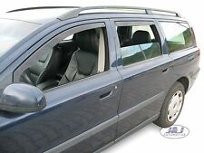 DVO31228 Volvo V70 mk2 Estate 2000 - 2007  wind deflectors  4pc set TINTED HEKO