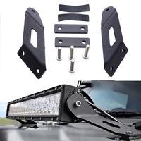 For 2007-2012 Jeep Wrangler JK 20 INCH LED Work Light Bar Hood Mounting Bracket