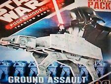 Wizkids Star Wars Pocketmodel Ground Assault UNITS * Pick One * Unpunched