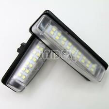 2Pcs 18-SMD LED Number-Plate Light For Toyota Aurion 2007-2013 2010 2011 2012
