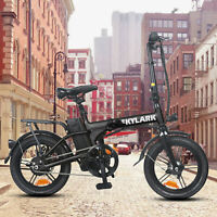 """16"""" Folding Electric Bike for Adults 250W Ebike with 36V10AH Lithium Battery"""