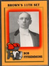 1997 Brown's Boxing #NNO Bob Fitzsimmons PROMO