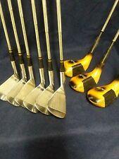 Faultless Cynthia Sullivan Used 5-PW Irons Plus 1,3 and 5 Woods Reg. Steel Shaft