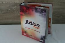 21 Disc Rival Fusion Live Fit Fitness Workout Dvd Weight Loss Program New