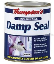 Thompsons White Damp Seal Stain Blocking Paint 250ml - Covers Water Mark Stains