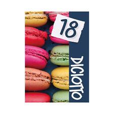 ★60 BIGLIETTINI INVITO BIGLIETTI INVITI FESTA COMPLEANNO 18 ANNI + BUSTA ID24★