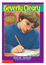 Dear Mr. Henshaw by Beverly Cleary NEW Paperback Newbery Medal Grades 3-5