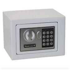 Honeywell Digital Electronic Safe Home Security Keys Lock Box Money Cash Small