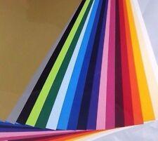 (24,44€/m²) Flexfolie Poli-Flex Premium DIN A4 (21x30cm) Starterset 18 Folien