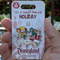 It's a Small World Holiday Pin 2020 Disney Christmas Disneyland  LE 3000