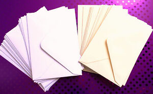 C7 / A7 Small Mini Envelopes 100gsm For RSVP Save The Date Wedding Invites