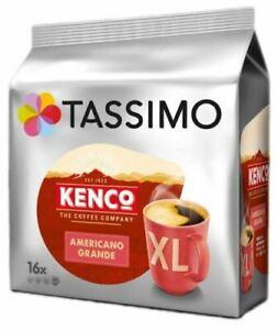 TASSIMO Kenco Americano Grande T Discs Pods 16/32/48/80 Drinks