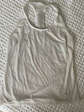 Lululemon Workout Tank Extra Small Xs White