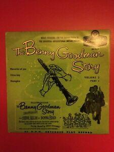 The Benny Goodman Story Vol 2- Original UK Brunswick 1956 Vinyl LP Ex