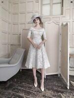 John Charles 26464, Mother Of The Bride/Groom, Dress, Silver In UK16,18
