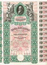 SPAIN GOYA GRABADOS  stock certificate ARTIST GOYA MUSEUM   BEAUTIFUL RARE