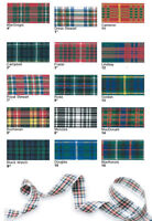 Tartan Ribbon by Berisfords 16 Approved Scottish Tartans Widths 25mm 40mm 70mm