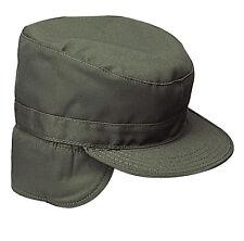 22ef9fda739 Us Bdu Gi Winter Army Cap Cap Hat W Ear Flaps Reforger Od Green OLIVE L