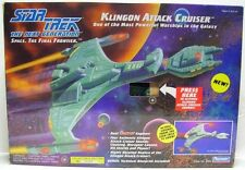 Star Trek The Next Generation Klingon Attack Cruiser NIB