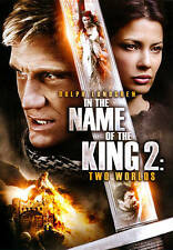 IN THE NAME OF THE KING 2: TWO WORLDS DOLPH LUNDGREN DVD BRAND NEW SEALED