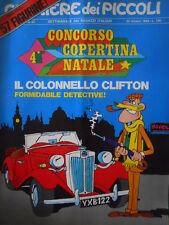 Corriere dei Piccoli 43 1969 con inserto Figurine  - Rolando Pirulì PUFFI [C17]